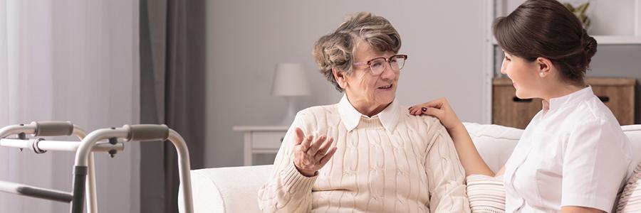 Bis zuletzt zu Hause – Häusliche Pflege und Nachbarschaftshilfe